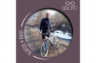 SellOttO - Sella Bici Comoda – Anatomica per Uomo e Donna - Nessuna Pressione zona Genitale – Ergonomica ed anti-Prostata – Ammortizzata e Made in Italy