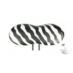 """""""Zebra"""" – La sella bici Elegante per Uomo e Donna – Nessuna pressione ed irritazione nell' area genitale"""