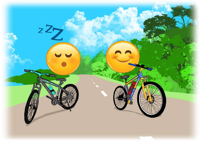 SellOttO_D_sella_comoda_bici_città_casa_elettrica_pieghevole_MTB_strada_corsa_palestra_cyclette_spinning_scatto_fisso_triathlon_turismo