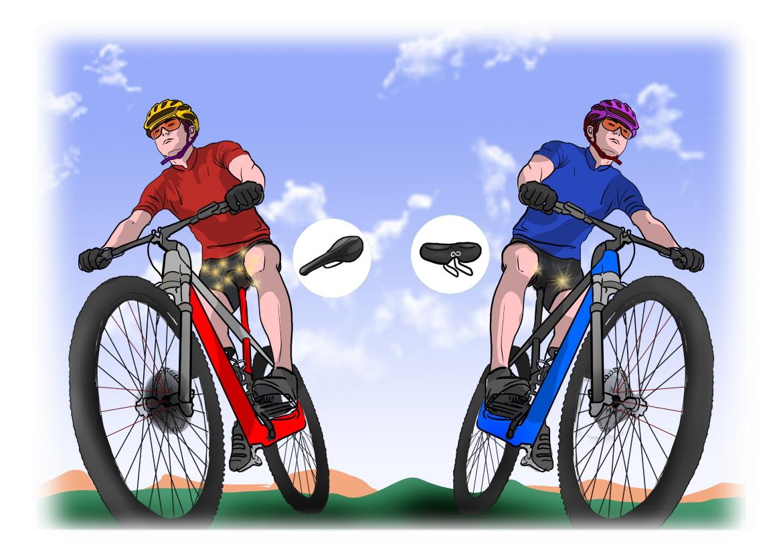 SellOttO_G_Sela_bicicleta_confortavel_prostata_acolchoado_assento